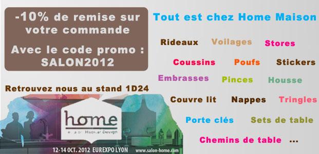 Code promo archives blog d co de home maison - Code promo deco de maison ...