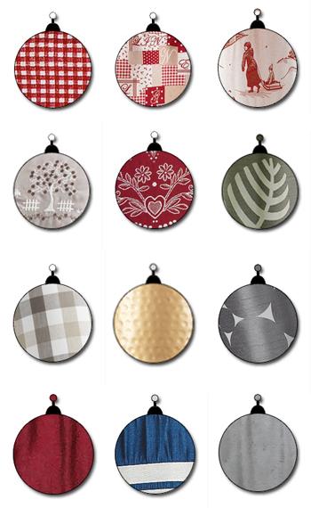 Les couleurs et motifs de Noël