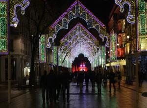 """Fête des Lumières 2012 : """"ROMAN-TYCA"""", rue de la République"""