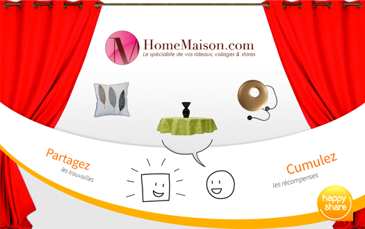 Happy share sur HomeMaison.com