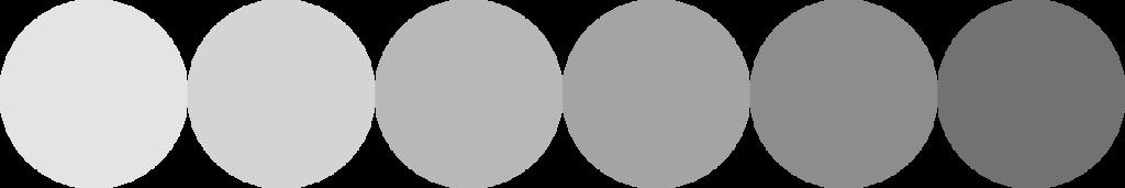couleur nuance-gris