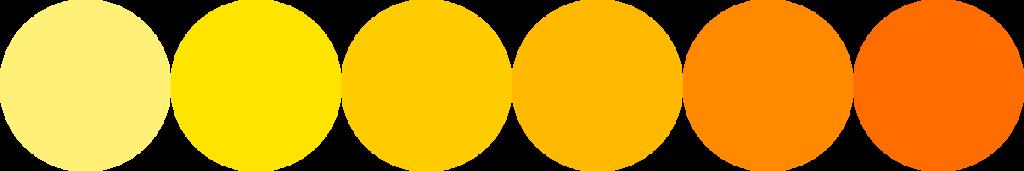 Couleur nuance-jaune