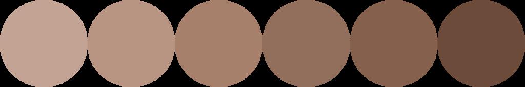 Couleur nuance-marron