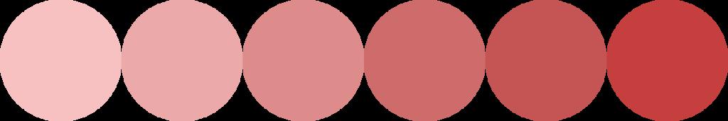 Couleur nuance-rouge