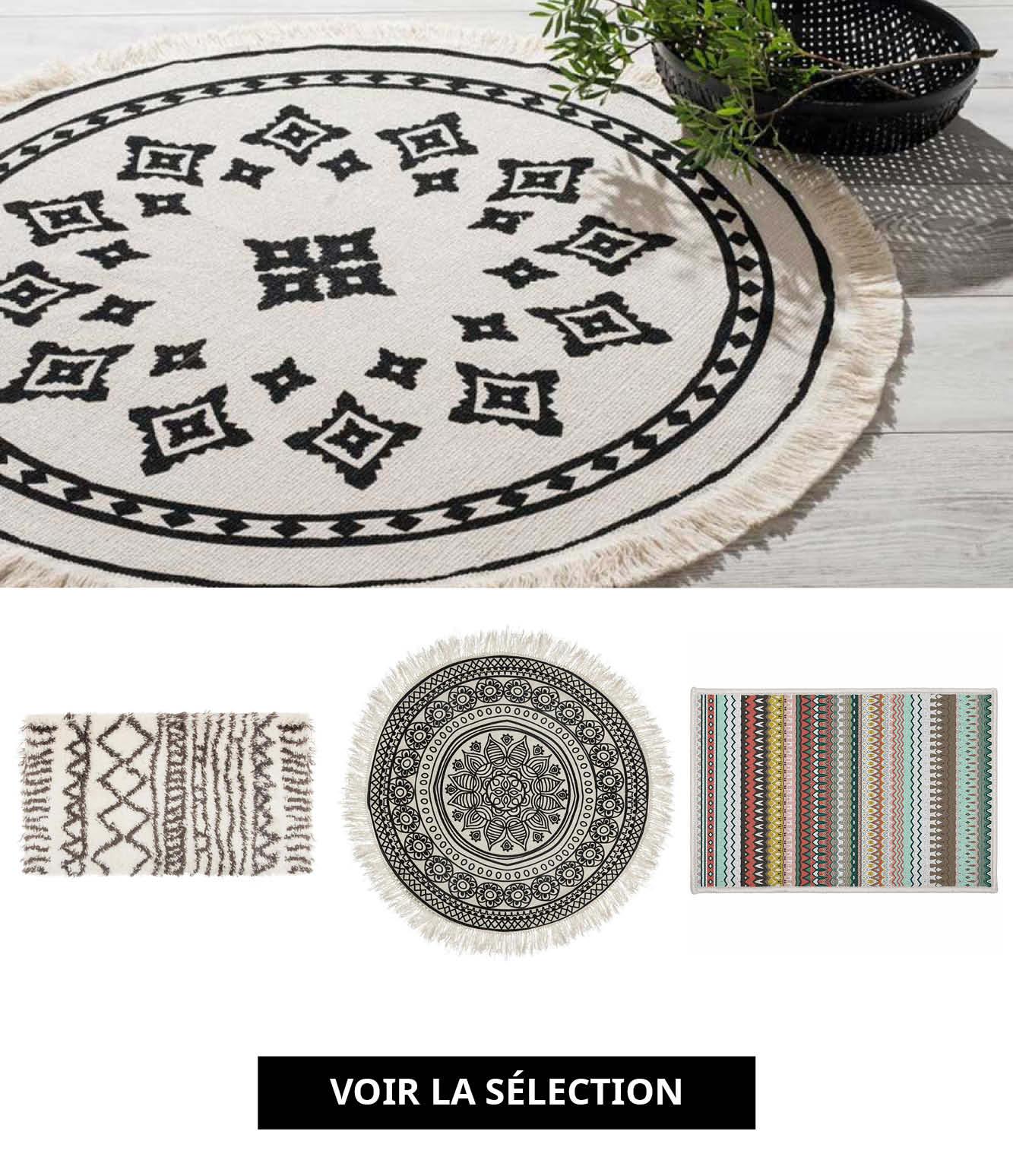 selection tapis ethno boheme