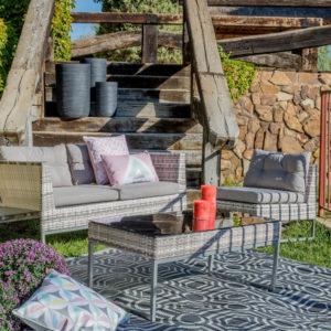 Salon de jardin détente homemaison