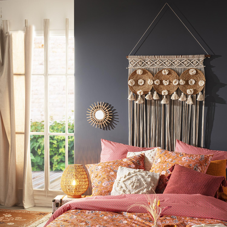 Idées cadeau : rideau fil en macramé