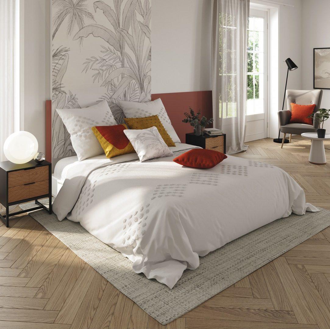 Coups de coeur déco : parure de lit en coton lavé