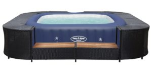 Spa Bestway cuve thermale avec bord