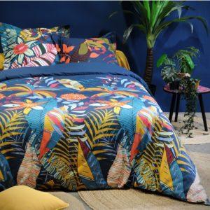 Parure de lit colorée